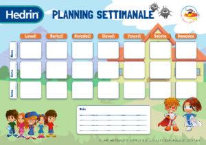 Planning Settimanale